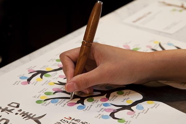 ウェディングツリーのペンは耐久性が大事