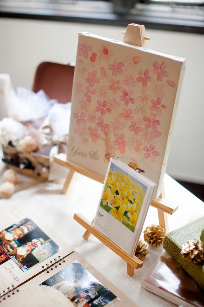 ウェディングツリースタンプ桜